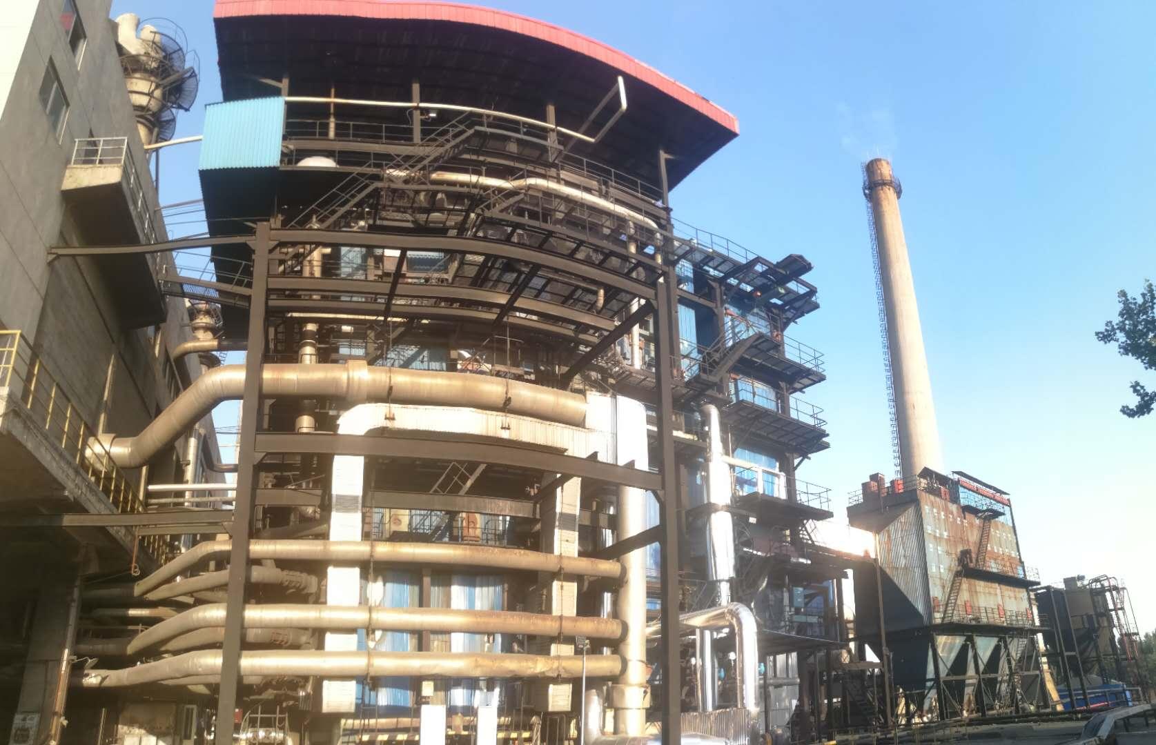 工业锅炉设备_新乡化纤厂锅炉改造现场-新乡高新工业设备安装有限公司